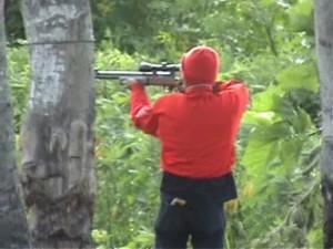 Pemburu sedang beraksi